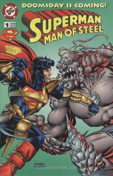 SUPERMAN MAN OF STEEL DOOMSDAY IS COMING #1 NM