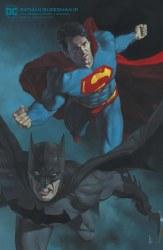 BATMAN SUPERMAN #10 CARD STOCK R FEDERICI VAR ED