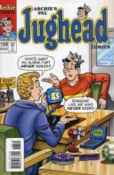 ARCHIES PAL JUGHEAD COMIC #168
