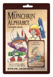 MUNCHKIN ALPHABET COLORING BOOK