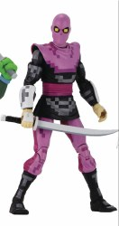 TMNT TURTLES IN TIME FOOT SOLDIER ACTION FIGURE
