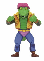 TMNT TURTLES IN TIME LEATHERHEAD 7IN ACTION FIGURE