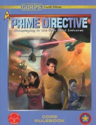 GURPS 4TH ED PRIME DIRECTIVE CORE RULEBOOK
