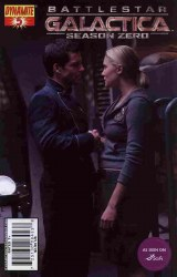 BATTLESTAR GALACTICA SEASON ZERO #05 PHOTO CVR