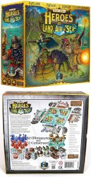 HEROES OF LAND AIR AND SEA BOARD GAME