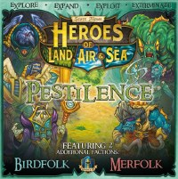 HEROES OF LAND AIR AND SEA PESTILENCE 7TH PLAYER EXPANSION