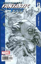 ULTIMATE FANTASTIC FOUR #13 CVR A SKETCH COVER