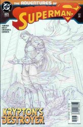 ADVENTURES OF SUPERMAN #625 NM2ND PRINTING SKETCH COVER