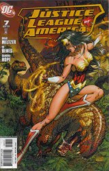 JUSTICE LEAGUE OF AMERICA VARIANT EDITION #7
