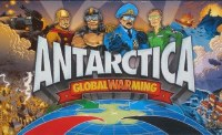 ANTARCTICA GLOBAL WARMING BOARD GAME 1ST EDITION