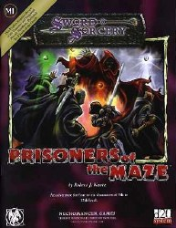D&D S&S PRISONERS OF THE MAZE
