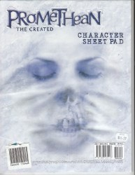 PROMETHEAN THE CREATED CHARACTER SHEET PAD