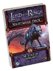 LORD OF THE RINGS CARD GAME VOICE OF ISENGARD NIGHTMARE DECK
