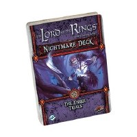 LORD OF THE RINGS CARD GAME NIGHTMARE DECKS THREE TRIALS
