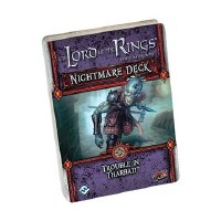 LORD OF THE RINGS CARD GAME NIGHTMARE DECKS TROUBLE THARBAD