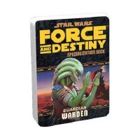 STAR WARS RPG FORCE AND DESTINY DECK GUARDIAN WARDEN