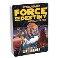 STAR WARS RPG FORCE AND DESTINY DECK GUARDIAN WARLEADER