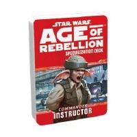 STAR WARS RPG AGE OF REBELLION COMMANDER INSTRUCTOR