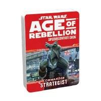 STAR WARS RPG AGE OF REBELLION COMMANDER STRATEGIST