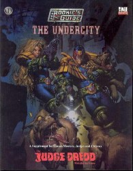 D&D JUDGE DREDD THE UNDERCITY