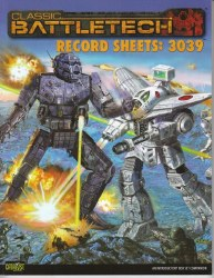 BATTLETECH RECORD SHEETS 3039