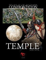 CONFRONTATION TEMPLE ARMY BOOK