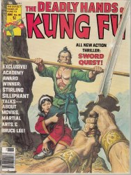 DEADLY HANDS OF KUNG FU #25 VF+