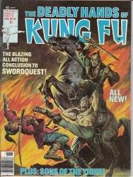 DEADLY HANDS OF KUNG FU #30 VF
