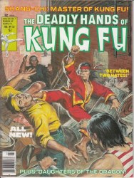 DEADLY HANDS OF KUNG FU #33 VF+