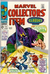 MARVEL COLLECTORS ITEM CLASSICS #15 VF+