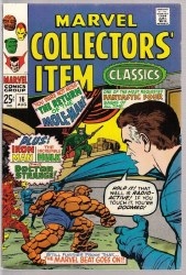 MARVEL COLLECTORS ITEM CLASSICS #16 VF