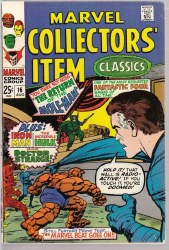 MARVEL COLLECTORS ITEM CLASSICS #16 VF-