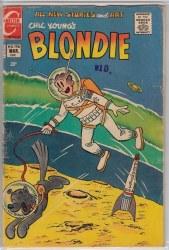 BLONDIE COMICS #196 VG