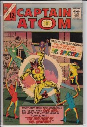 CAPTAIN ATOM (CHARLTON) #81 VF