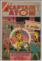 CAPTAIN ATOM (CHARLTON) #81 VG