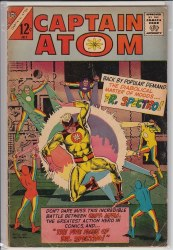 CAPTAIN ATOM (CHARLTON) #81 VG+