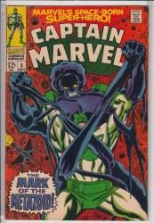 CAPTAIN MARVEL (1968) #05 VF-