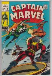 CAPTAIN MARVEL (1968) #09 VF-