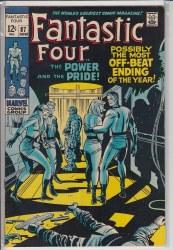 FANTASTIC FOUR (1961) #087 VF
