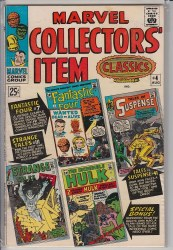 MARVEL COLLECTORS ITEM CLASSICS #04 FN+