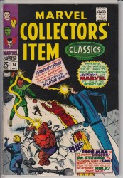 MARVEL COLLECTORS ITEM CLASSICS #14 VF-