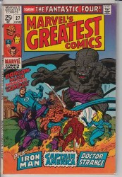MARVEL'S GREATEST COMICS #27 VF-