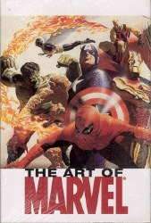 ART OF MARVEL VOL 1 HC