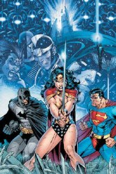 INFINITE CRISIS #1 JIM LEE POSTER