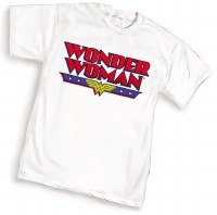 WONDER WOMAN LOGO WOMENS T/S LG