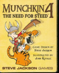 MUNCHKIN 4 THE NEED FOR STEED