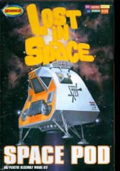 LOST IN SPACE 1/24 SCALE SPACE POD MODEL KIT
