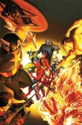 AVENGERS INVADERS BY ALEX ROSS POSTER