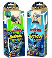 DC HEROCLIX BATMAN 4 FIGURE GAME PACK