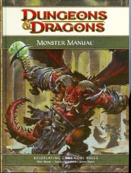 D&D 4TH ED MONSTER MANUAL